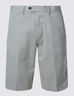 Pure Cotton Shorts, PALE GREEN, catlanding
