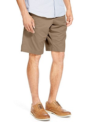 Pure Cotton Shorts, PUTTY, catlanding