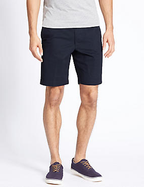 Big & Tall Pure Cotton Shorts, NAVY, catlanding