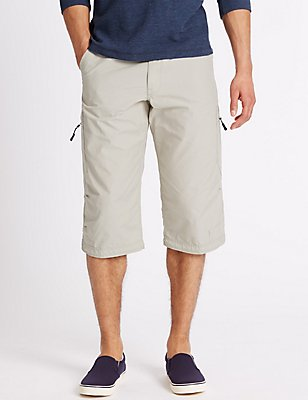 Cotton Rich Trekking Shorts , LIGHT STONE, catlanding