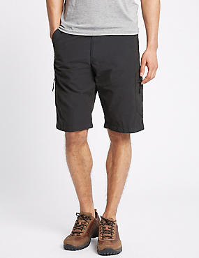Cotton Rich Trekking Shorts, CHARCOAL, catlanding