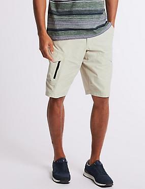 Cotton Rich Trekking Shorts, LIGHT STONE, catlanding