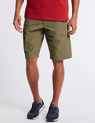 Cotton Rich Trekking Shorts, SAND, catlanding
