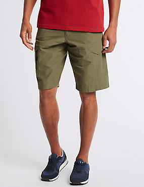 Cotton Rich Trekking Shorts, SAND, catlanding