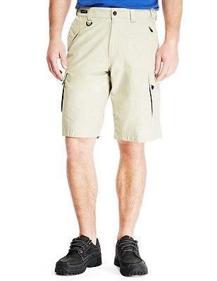 Shorts with Adjustable Waist, STONE, catlanding