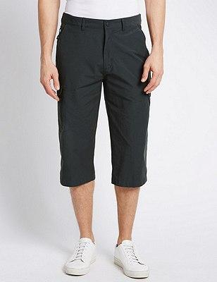 Cotton Rich Trekking Shorts, CHARCOAL, catlanding