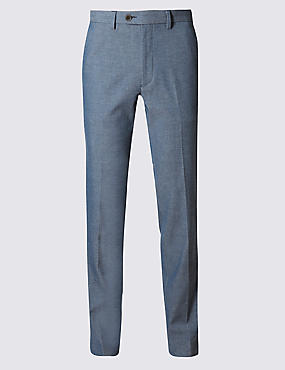 Modern Slim Fit Commuter Trouser with Stretch