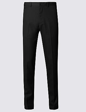 Modern Tailored Textured Trouser