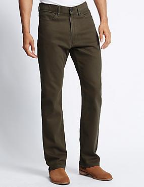Regular Fit Water Resistant Jeans, MOLE, catlanding