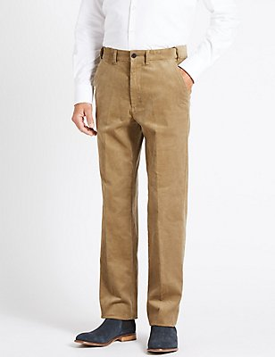Big & Tall Pure Cotton Corduroy Trousers, MOLE, catlanding