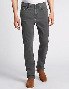 Big & Tall Regular Fit Stretch Jeans, , catlanding