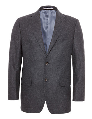 Wool Rich Winter Weight Melton Jacket Clothing