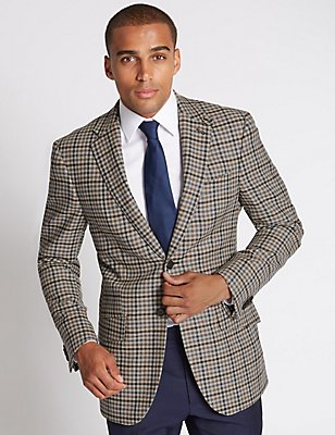 Gun Club Formal Jacket, GREY MIX, catlanding
