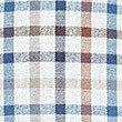 Chemise 100% coton à carreaux avec poche, MARRON ASSORTI, swatch