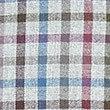 Chemise 100% coton à carreaux avec poche, AUBERGINE ASSORTI, swatch