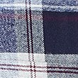 Brushed  Cotton Checked Shirt, BLUE MIX, swatch