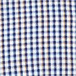 Pure Cotton Checked Shirt with Pocket, NAVY, swatch