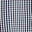 Pure Cotton Checked Shirt, DARK MARINE, swatch
