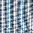 Pure Cotton Checked Shirt with Pocket, TEAL, swatch