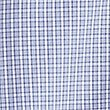 Pure Cotton Checked Shirt with Pocket, ROYAL BLUE, swatch