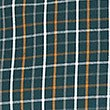 Pure Cotton Checked Shirt with Pocket, DARK GREEN MIX, swatch