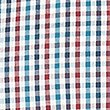 Soft Touch Pure Cotton Multi Gingham Shirt, MULBERRY MIX, swatch