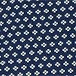 Pure Cotton Tailored Fit Diamond Print Shirt, INDIGO, swatch