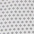 Pure Cotton Tailored Fit Diamond Print Shirt, WHITE MIX, swatch