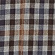 Pure Cotton Tailored Fit Gingham Shirt, PRALINE, swatch