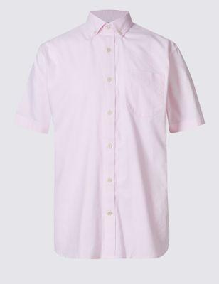 Рубашка из чистого хлопка с карманом