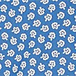 Pure Cotton Printed Shirt, BLUE, swatch
