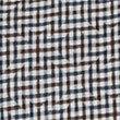 Italian Fabric Pure Cotton Maze Checked Shirt, KHAKI, swatch