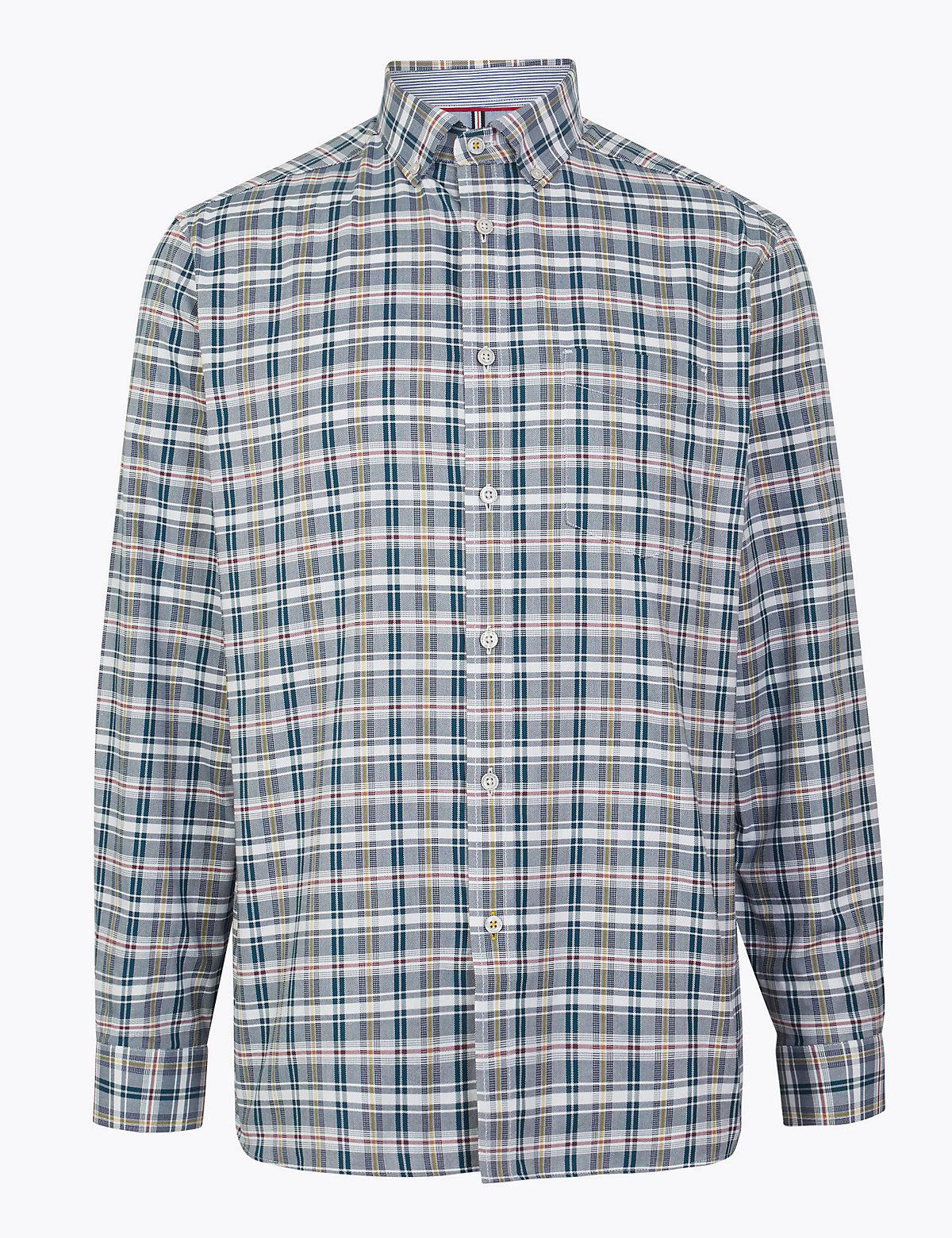 Свободная рубашка Oxford в клетку