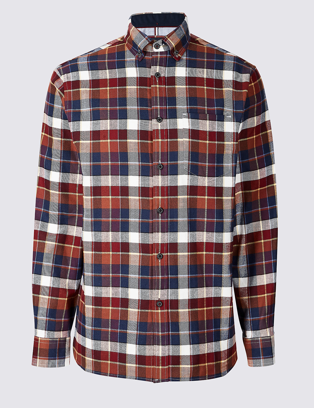 Рубашка из 100% хлопка с нагрудным карманом