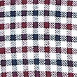 Pure Cotton Checked Shirt with Pocket, BURGUNDY MIX, swatch