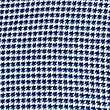 Luxury Brushed Cotton Checked Shirt, BRIGHT BLUE, swatch