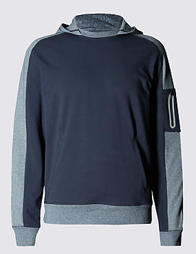 Performance Hoody with Stretch Fabric and & Reflective Trim