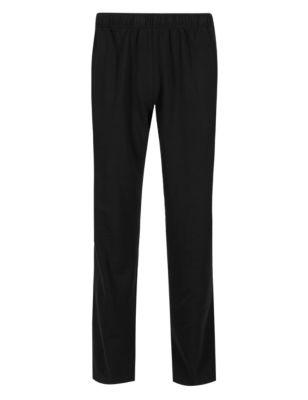 Хлопковые брюки-джоггеры StayNEW™ M&S Collection T281649M