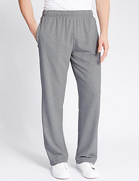 Cotton Rich Joggers , GREY MARL, catlanding