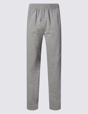 Хлопковые спортивные брюки StayNEW™ от Marks & Spencer
