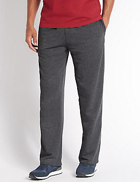 Cotton Rich Joggers , CHARCOAL, catlanding