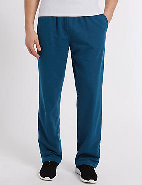 Cotton Rich Joggers , TEAL MIX, catlanding