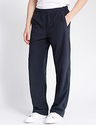 Fleece Joggers, NAVY, catlanding