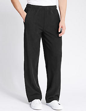 Fleece Joggers, BLACK, catlanding