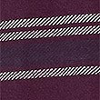 Pure Cotton Striped Rugby Top, BURGUNDY, swatch