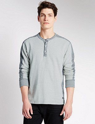 Pure Cotton Tailored Fit Lightweight Sweatshirt, NATURAL, catlanding