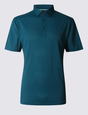 Слегка приталенная рубашка-поло с технологией Cool Comfort T283018M