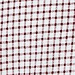 Pure Cotton Checked Polo Shirt, RED MIX, swatch