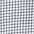 Pure Cotton Checked Polo Shirt, WHITE MIX, swatch