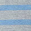 Pure Cotton Slim Fit Striped Polo Shirt, GREY MIX, swatch